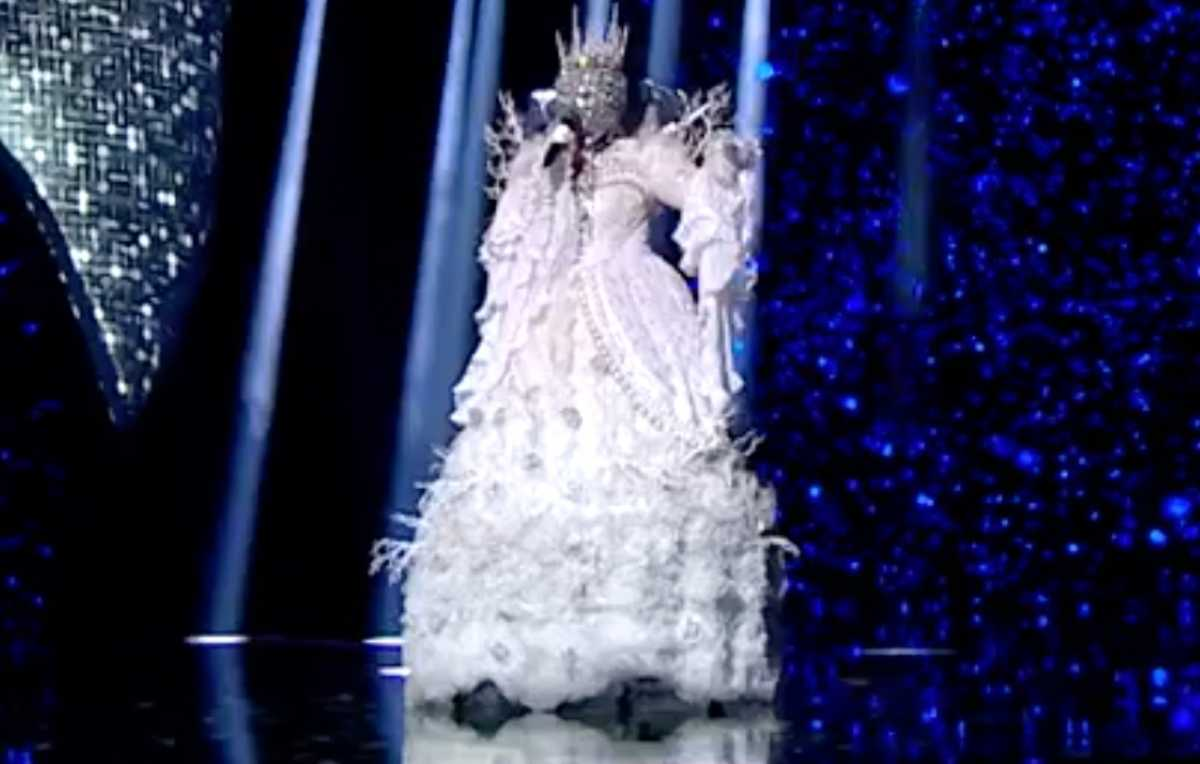 Koningin in 'The Masked Singer' VTM